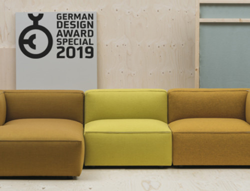 El sofá Dado de Andreu World recibe el German Design Award 2019